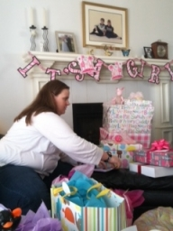 It's a Girl! My Niece Katie is going to have a baby, so I'm going to be a Great Aunt!